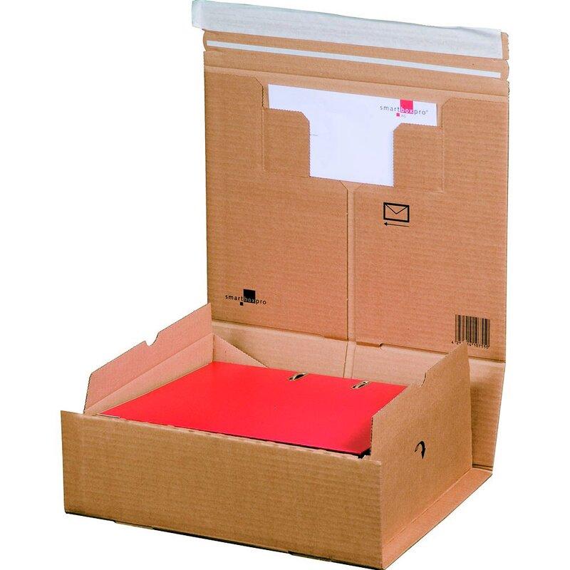 Verpackung Versand Schachtel aus Wellpappe Karton Kiste Postversand Maxibrief 400 Maxibriefkartons 319 x 225 x 50 mm DIN A4