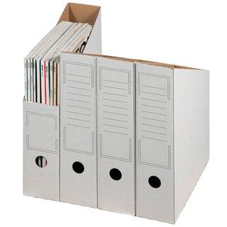 50x  5Star Archiv Stehsammler Wellpappe Zeitschriftensammler Farben versch